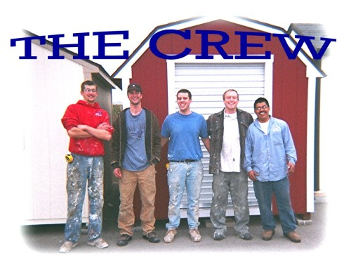 Idaho Wood Sheds Crew
